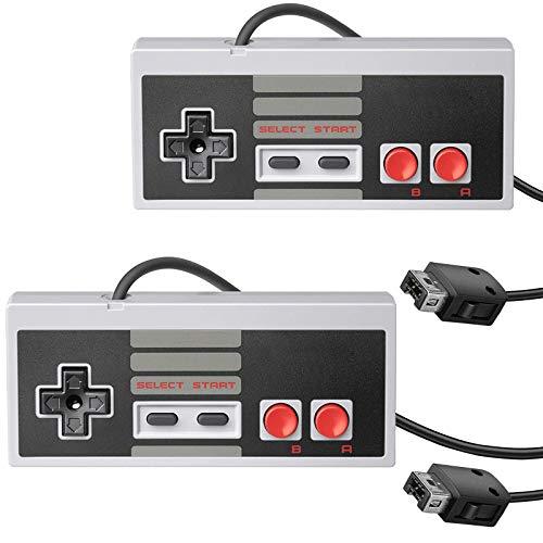 2 Pack USB Controller for NES Games, PC Retro Console Gamepad Joystick Raspberry Pi Gamepad Controller for Windows PC Mac Linux RetroPie NES Emulators
