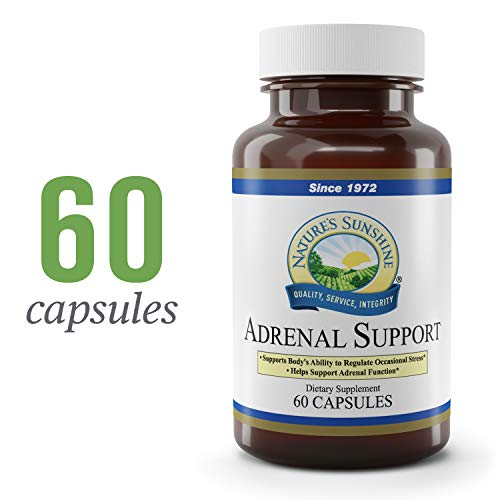 Natures Sunshine Adrenal Support 60 Capsules
