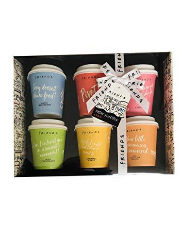 Friends The TV Series Mini Travel Takeout Becher aromatisiert Kaffee Mix Set 6 Stück
