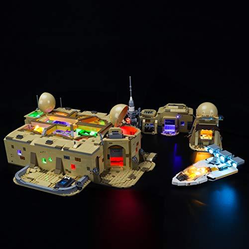 LIGHTAILING Conjunto de Luces (Star Wars Cantina de Mos Eisley) Modelo de Construcción de Bloques - Kit de luz LED Compatible con Lego 75290 (NO Incluido en el Modelo)
