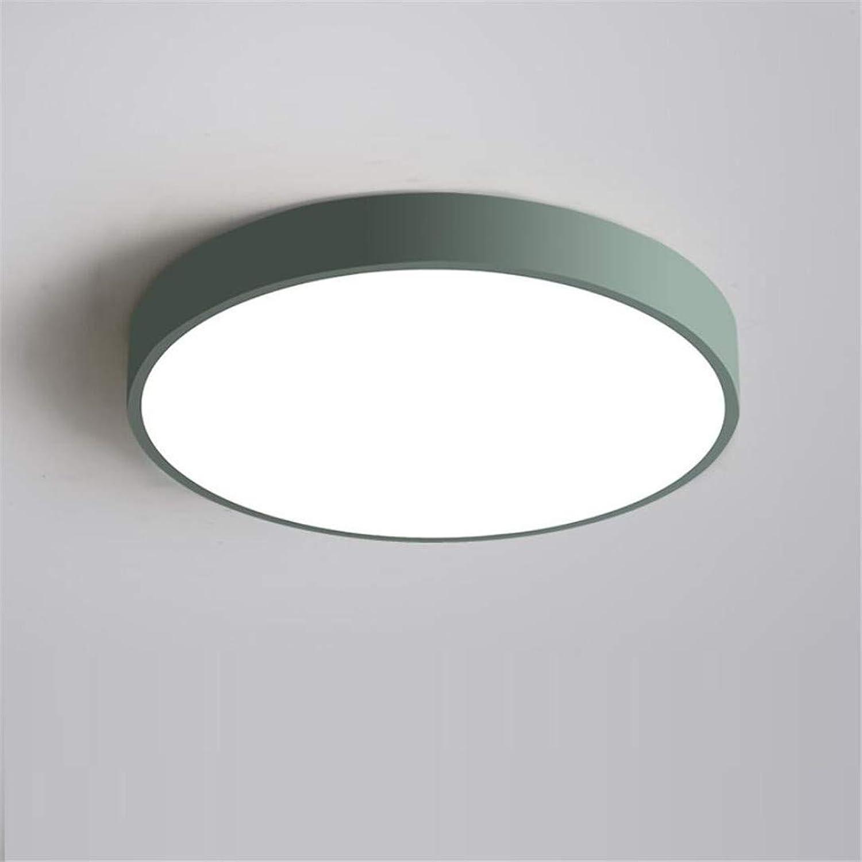 Nordic einfache schlafzimmer lampe kreative persnlichkeit LED deckenleuchte moderne schmiedeeisen wohnzimmer lampe grüne runde lampe