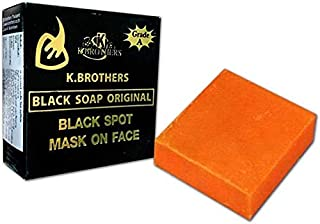 K-BROTHERS Original SOAP Beauty Care USA for Black SPOT Body and FACE 50 G. By naveenana shop.