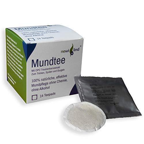 Newilind® OPC Mundtee Trink- und Spüllösung beruhigt strapazierte Mundschleimhaut, natürliche Hilfe, schonende Pflege,rein pflanzlich