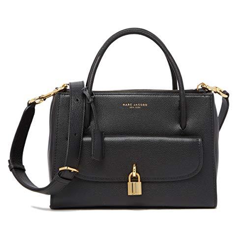 Marc Jacobs M0014784-0001 Damen Handtasche Leder Schwarz M