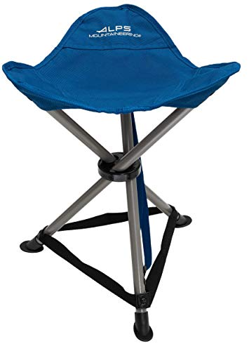 ALPS Mountaineering Tri-Leg Stool, Deep Sea, One Size (8120004)