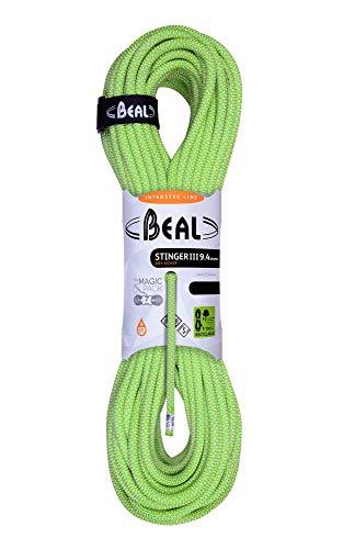 Beal C094.80 - Cuerda de Escalada, Color Blanco (Anis), Talla 9,4 mm...