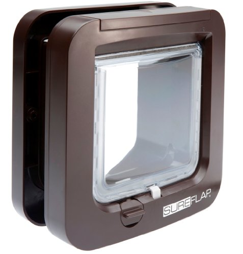 Sure Petcare Trixie Cat Flap con identificazione Microchip