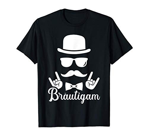 Bräutigam JGA Junggesellenabschied T-Shirt