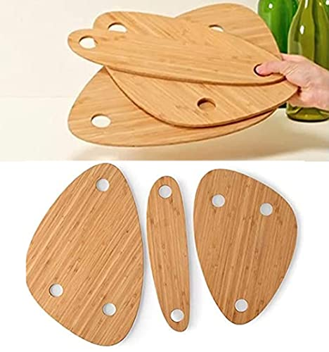 1/2Set Wine Bottle Topper Serving Round Circle Tray Set,Snack and Cheese Holder Tray for Backyard Camping,Outdoor Wine Table Uncommon Goods,Wooden Outdoor Picnic Table,Charcuterie Board Tray (2set)