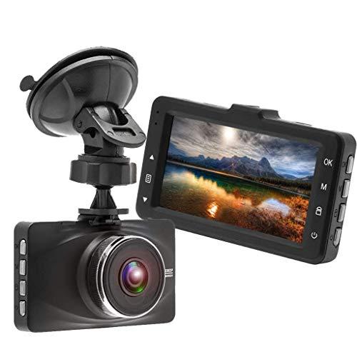QXHELI Autokamera 170 ° Weitwinkel-Schlag-Nocken Für Autos Full HD 1080P Auto-Videogerät Parkplatz-Monitor WDR G-Sensor Loop Recording Night Vision