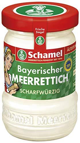 Schamel Meerrettich Scharfwürzig, 12er Pack (12 x 145 g)