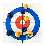 SXGKYY Table Top Curling Juego Calidad De Sobremesa Compacto Curling Juego De Curling Curling Juego De Mesa Mini Juegos De Mesa