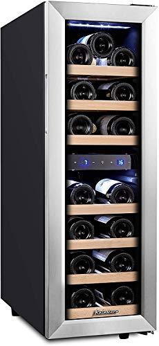 Kalamera Wine fridge,19 Bottle,65L,Freestanding Undercounter Cooler,2...