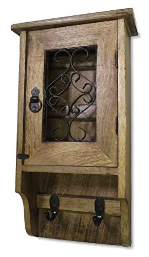 Purity Schlüsselkasten aus Holz für die Wand - nie wieder Ihre Schlüssel verlieren