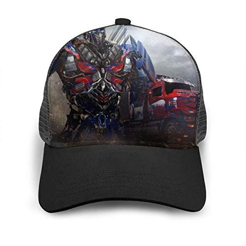 Optimus Prime Baseball Cap Hip Hop Hut für Männer Frauen Teens Schwarz Einstellbare Baseballmützen Nylon Mesh Sun Hat