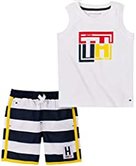 Tommy Hilfiger: Tommy Hilfiger timeless style will guarantee that your little one is always dressed in style Style and design: our trend driven designs will ensure that your little man looks as good as he feels Comfortable fit: two piece set perfect ...