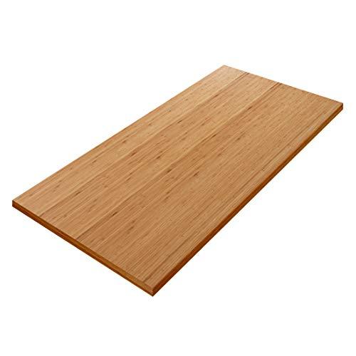 Flexispot stabile Tischplatte 2,5 cm stark - DIY Schreibtischplatte Bürotischplatte Spanholzplatte (140 x 70 cm, Bambus)