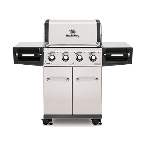 Broil King Regal S420 Pro 4 Burner Natural Gas Grill - Stainless Steel