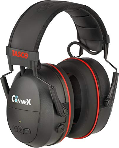 CONNEX Bluetooth Hearing Protector Over-The-Head Earmuffs