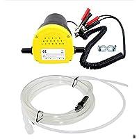 12V 60W bomba de transferencia 250L / hora extractor de aceite líquido bomba de succión diesel de la succión para el coche, moto, Quad
