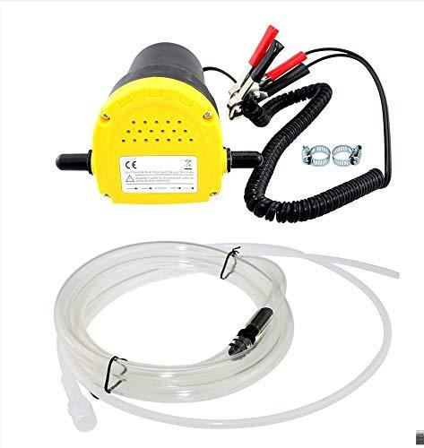 12V 60W bomba de transferencia 250L   hora extractor de aceite líquido bomba de succión diesel de la succión para el coche, moto, Quad