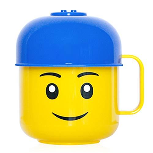 Oxford Tazza - Coppa con coperchio Cup Kids Cup bambino 250ml (Blue Blu)