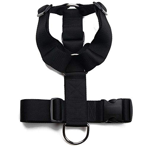 Mendota Pet Heavy Duty Tracking Harness - Dog Harness - Made in The USA - One Size (for Dogs 50 lbs - 150 lbs)