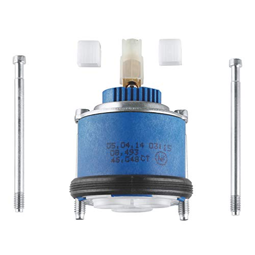 GROHE Kartusche 46 mm | Badarmatur - KARTUSCHE | mit keramischem Dichtsystem für Waschtischarmaturen | 46048000