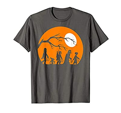 Star Wars Trick Or Treat Halloween Silhouette T-Shirt T-Shirt