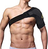 FITTOO Shoulder Support Brace Neoprene Straps Gym Sports Shoulder Brace - Injury Recovery