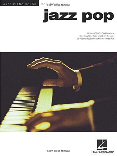 Jazz Piano Solos Volume 8: Jazz Pop: Noten für Klavier: Jazz Piano Solos Series Volume 8 (Jazz Piano Solos (Numbered))