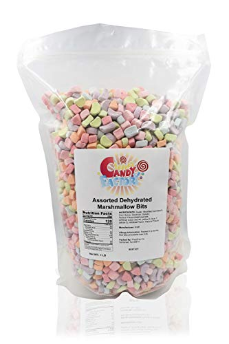 Rainbow Dehydrated Marshmallow Bits