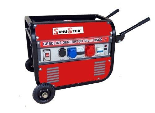 Gruppo elettrogeno/Generatore di corrente 2800W - 220/380V con ruote (cod.3417)