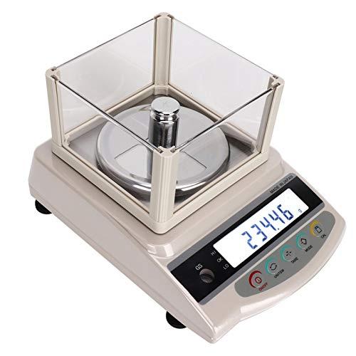Balanza electrónica 500g / 0,1g 2 mandos a distancia, para medir oro, plata y joyas(European standard 220V)