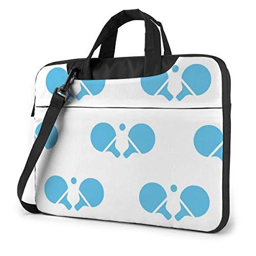 Laptop Case Computer Bag Sleeve Cover Table Tennis Waterproof Shoulder Briefcase