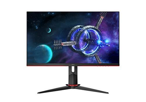 "AOC 27G2 27"" Frameless Gaming IPS Monitor, FHD 1080P, 1ms 144Hz, Freesync, Height Adjustable, 3-Year Zero Dead Pixel Guarantee"