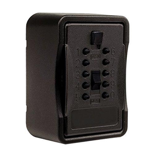 Kidde AccessPoint 001267 KeySafe Pro Multiple Key, Pushbutton, with Cover, Black