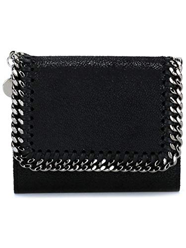 Stella McCartney Luxury Fashion Donna 431000W91321000 Nero Tessuto Portafoglio | Autunno-inverno 20