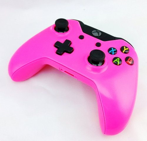 Color Series Xbox One Controller PINK - XB1 - First Party Modded Controller in Colored Shell by Quickdrawmods