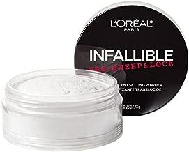 L'Oreal Paris Makeup Infallible Pro-Sweep & Lock Loose Matte Setting Face Powder