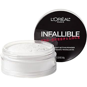 L Oreal Paris Makeup Infallible Pro-Sweep and Lock Loose Matte Setting Face Powder Translucent 0.28 Oz