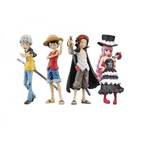 Half Age Characters One Piece Promise Of The Straw Hat (Lot de 8 figurines)