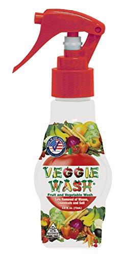 Veggie Wash Natural Fruit and Vegetable Wash 25 fl Oz Spray