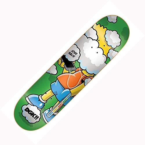 Unbekannt DGK Skateboard-Brett/Deck, 20,32 cm - Kalis Clouded