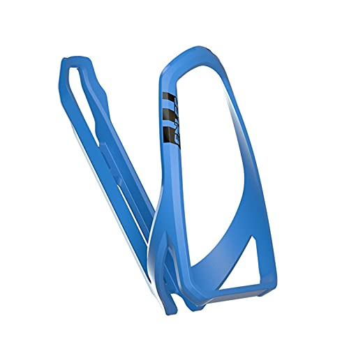 Bottle Cage Gloss Solid Color Bike Water Bottle Cage Retention SystemLightweight Strong Bicycle Cup Holder Easy To Mount Road Bike Bottle Holder (Color : Blue)
