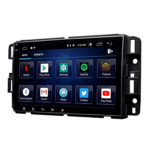 2021 Newest Android 10 Double Din Car Stereo, Eonon 8 Inch Car Radio Compatible with Chevrolet/GMC/Buick, GPS Navigation Radio Support Split Screen/Built-in Apple Carplay/DSP -GA9480B