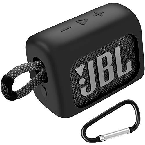 Funda de silicona compatible con JBL GO 3 GO3 portátil Bluetooth impermeable...