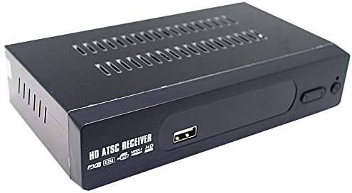 Tianeee HD H2.64 MPEG 4 Digital ATSC TV Tuner for Air Channels 1080P HDMI Component Video Output, Suits for Canada, Mexico, Coupled States