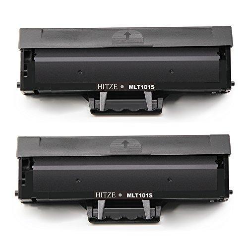 Hitze MLT-D101S MLT D101 D101S Toner Compatibile per Samsung ML2165 ML2160 ML2165W SCX-3400 SCX-3405FW SCX-3400 SF760P SCX3405FW SCX3405F SCX3405W M2162 (2 Nero)