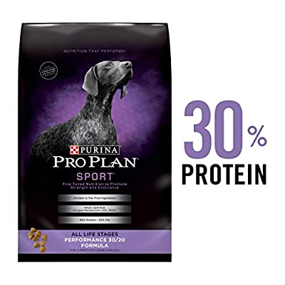Purina Pro Plan High Protein Dry Dog Food, SPORT Performance 30/20 Formula - 37.5 lb. Bag